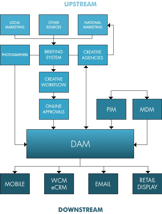 Example Digital Asset Supply Chain Diagram